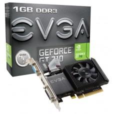 EVGA GeForce GT 710 - 1 GB DDR3 - DVI-D - HDMI - VGA -