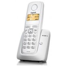 Gigaset A120 Teléfono DECT Blanco Identificador de llamadas (Espera 4 dias)