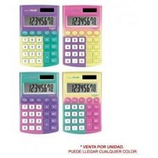 Milan Calculadoras de bolsillo de 8 digitos edicion