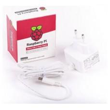 FUENTE DE ALIMENTACION USB-C 5.1V 3A - BLANCO RASPBERRY (Espera 4 dias)