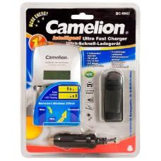 Cargador Rapido BC-0907 Camelion (Espera 2 dias)