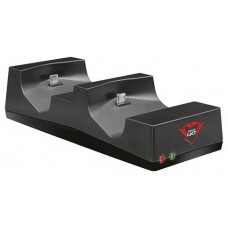 BASE CARGA DOBLE TRUST PARA CONTROLADORES PS4 USB