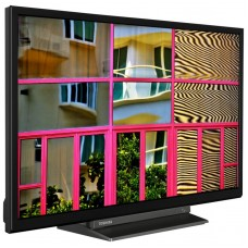 "TELEVISIÃ""N LED 24  TOSHIBA 24WL3C63DG SMART TELEVISIÃ""N HD"