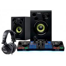 Hercules DJStarter Kit controlador dj Negro (Espera 4 dias)