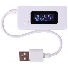 Tester USB Medidor Voltaje+ Corriente (Espera 2 dias)