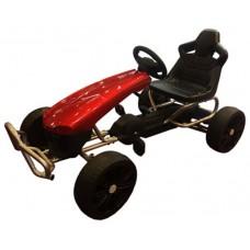 Kart Pedales Supreme Red Edition - Sin caja original (Espera 2 dias)