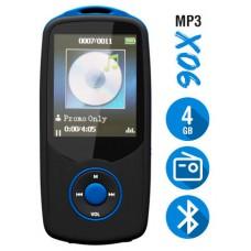 Reproductor MP3 Bluetooth 4Gb X06 Azul (Espera 2 dias)