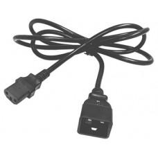 Salicru  Cable salida IEC C13/C20 1,8m 10A