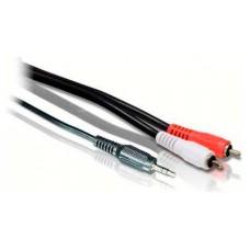 Cable Audio Jack 3.5mm 2 x RCA Stereo 1m Biwond (Espera 2 dias)