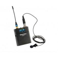 CLEARONE WIRELESS BELTPACK TRANSMITTER WITH 2.4 GHZ RF BAND (910-6104-001) (Espera 4 dias)