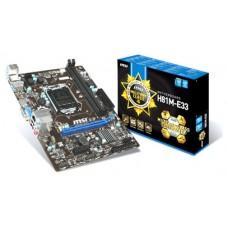 PB H81M-E33 1150 uATX 2DDR3 VGA HDMI