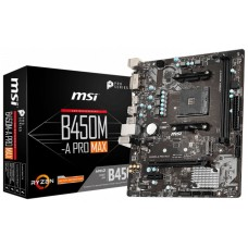 PLACA BASE AM4 MSI B450M-A PRO MAX AM4 (Espera 4 dias)