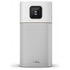 Benq GV1 videoproyector 200 lúmenes ANSI DLP WVGA (854x480) Proyector portátil Plata, Amarillo (Espera 4 dias)