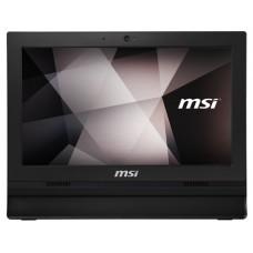 """MSI AIO PRO 16T 10M-001XEU. 15.6"""" eDP HD 16:9 (1366 x 768). TACTIL. CELERON 5205U. INTEL UHD GRAPHICS. DDR4 4G. 2 SLOTS (32GB MAX). 256GB SSD. SIN S.O. WEBCAM. T+R.NEGRO (Espera 4 dias)"""