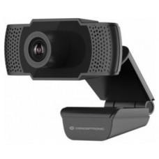 WEBCAM HD CONCEPTRONIC AMDIS 1080P INTERPOLADO USB