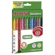 ROTULADORES ALPINO 12UDS