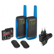 MOTOROLA T62 Walkie Talkie 8Km 16CH Azul Duo