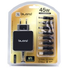 Cargador Automatico Ultrabook 45W Universal (8 Conectores) Biwond (Espera 2 dias)