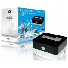 """BASE CONEXION HD 2,5""""-3,5"""" CONCEPTRONIC USB (Espera 4 dias)"""