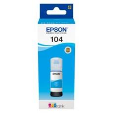 Epson Botella Tinta Ecotank 104 Cyan 70ml