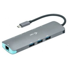 I-Tec - Docking Station - Entrada USB-C - Metal Nano