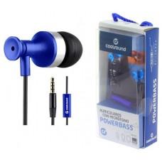 Auricular + Micrófono Powerbass Azul Coolsound (Espera 2 dias)