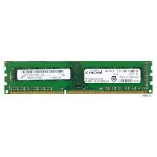 DDR3 4GB 1600MHz CRUCIAL CT51264BD160B   1.35v