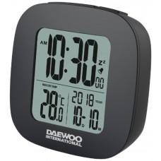 Reloj Despertador Digital Negro Daewoo (Espera 2 dias)