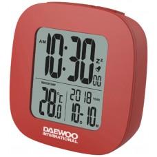 Reloj Despertador Digital Rojo Daewoo (Espera 2 dias)