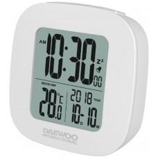 Reloj Despertador Digital Blanco Daewoo (Espera 2 dias)