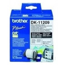 Brother Etiquetas Dirección 62x29 Blancas