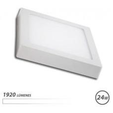 Downlight Cuadrado Sobre Pared LED / 24 W / Luz Blanca ELBAT (Espera 2 dias)