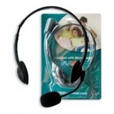 EWENT EW3563 Auriculares+ Micrófono Stéreo