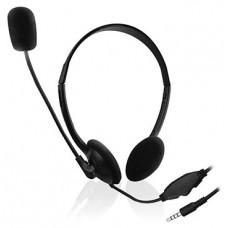 Ewent EW3567 auricular y casco Auriculares Diadema Negro (Espera 4 dias)