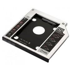 EWENT ADAP.HDD/SSD SATA PARA UNIDAD ÓPTICA 9.5mm