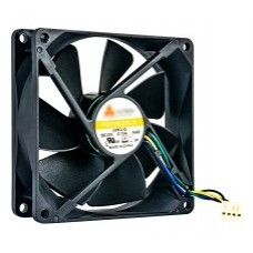 QNAP FAN-9CM-T01 ventilador de PC Universal 9,2 cm Negro (Espera 4 dias)