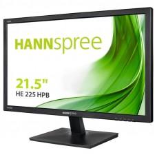 "MONITOR HANNS HE225HPB 21,5"" 1920x1080 6.5MS VGA HDMI ALTAVOCES NEGRO"
