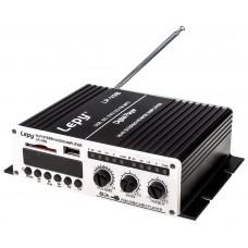 Amplificador Digital Estéreo HI-FI Portátil con USB/SD/FM/MP3 + (Espera 2 dias)