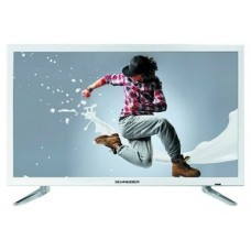 "SCHNEIDER CONSUMER RAINBOW TV 24"" LED FHD USB HDMI blanca 59,9 cm (23.6"") Full HD Blanco (Espera 4 dias)"