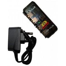 Hub USB 4 Puertos Alimentación con Alimentación L-LINK (Espera 2 dias)