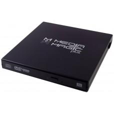 CAJA EXTERNA DVD PLASTICO NEGRO  MMP-110SB-U1 (Espera 5 dias)