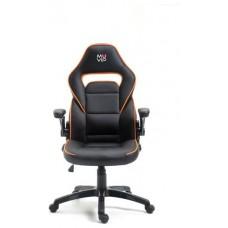 Silla Gaming GM400 Negro/Naranja MUVIP (Espera 2 dias)