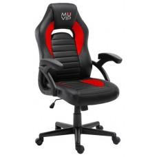 Silla Gaming GM900 Negro/Rojo MUVIP (Espera 2 dias)