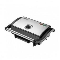 Sandwichera INOX Placa Lisa 1500W Temperatura Regulable MUVIP (Espera 2 dias)