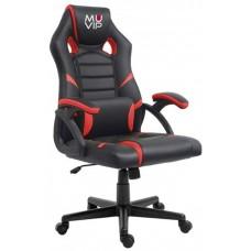 Silla Gaming GM1000 Negro/Rojo MUVIP (Espera 2 dias)