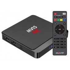 Mini PC Smart TV MV15 4K 5G / Android 10 / Quad Core / 2GB RAM / 16GB MUVIP (Espera 2 dias)