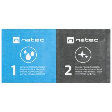 TOALLITAS DESINFECTANTES NATEC RACOON WET-DRY PACK 50 UDS