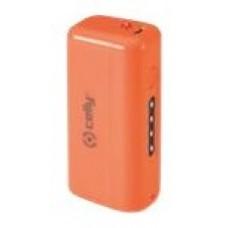CELLY POWER BANK 2,2 A FLUO NARANJA MICRO USB (Espera 3 dias)