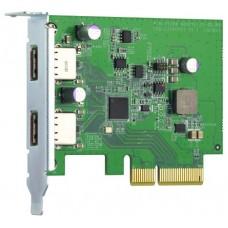 QNAP QXP-10G2U3A tarjeta y adaptador de interfaz Interno USB 3.2 Gen 2 (3.1 Gen 2) (Espera 4 dias)