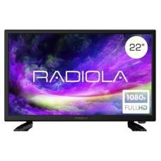 """TV RADIOLA RAD-LD22100K/ES LED 22"""" FHD CON ADAPTADOR 12V (Espera 4 dias)"""